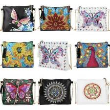 Ladies Cross Body Bags Faux Leather Purse DIY Diamond Painting Embroidery Kits