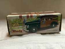 "ERTL WIX FILTERS 1940 FORD WOODY WAGON 1:24 SCALE ""NIB"""