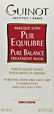 Guinot Pur Equilibre Pure Balance Treatment Mask 2.1oz 50 ml New in Box