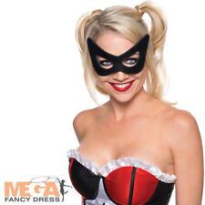 Harley quinn masque super héros femmes robe fantaisie