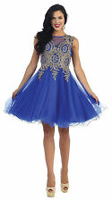 DressOutlet Short Plus Size Formal Prom Dress Homecoming Cocktail Birthday Gown