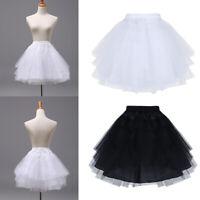 Kids Girls Petticoat Underskirt Crinoline Slip for Flower Girls Wedding Dress
