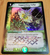 SupportingTulip 5/55 - Duel Masters DM04 - Very Rare Holo - Englisch - Mint