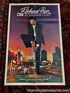 Richard Pryor: Live on the Sunset Strip movie poster (27x41) Original COMING