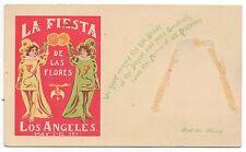 1907 Postcard from the La Fiesta de las Flores Los Angeles CA