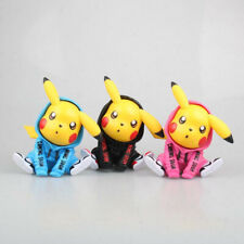 Kawaii Anime Pokemon Pikachu Decoration Action Figure Toy Prototype Doll Gift