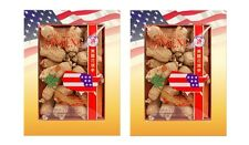 2 Boxs Hsu's WI American Ginseng Root Cultivated Short Large 4 oz #111-4