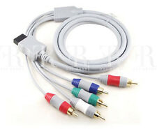 High Resolution Component HD AV Audio Video Cable Nintendo Wii, Wii U 5 RCA Cord