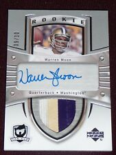 13-14 The Cup WARREN MOON AUTO 3CLR PATCH 9/10 * Sidney Crosby Rookie Tribute *