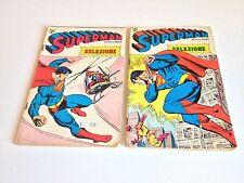 SUPERMAN SELEZIONE N. 10 E 11 EDITRICE CENISIO 1979 LOTTO
