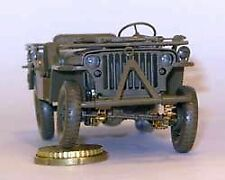 Minor 1/35 Workable Leaf Springs for WWII Jeep