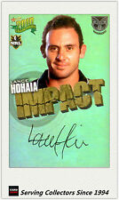 2010 Select NRL Champions Impact Foil Signature IS57 Lance Hohaia (Warriors)