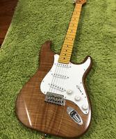 Flame Koa Top ST Electric Guitar
