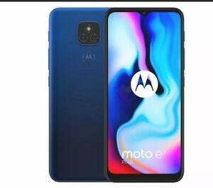 Motorola Moto E7 Plus Brand New - 64GB -6.2in Blue Unlocked 4G SmartPhone