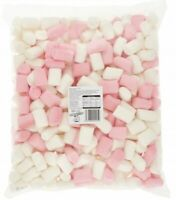 Mighty Mallow Pink and White Sweetzone Kid Sweets Candy HALAL 1kg Marshmallows
