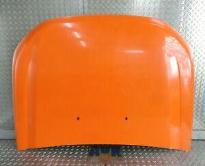 Motorhaube weiß orange foliert  Ford Ranger TKE 2011-2016