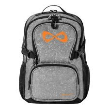 Nfinity Sparkle Full Size Backpack Gray/Orange Logo