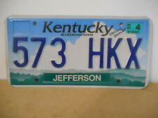 plaque immatriculation usa kentucky jefferson 2004 license plate old americaine