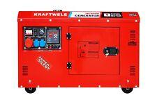 GENERATOR POWER GENERATOR 16 kVA SILENT KRAFTWELE DIESEL 3 PHASE 230V 400V