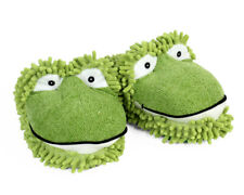 Frog Slippers - Green Aroma Home Fuzzy Friends Slippers