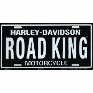 HARLEY-DAVIDSON Road King License Plate