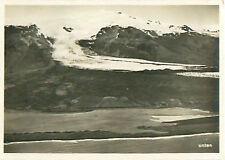 Nº 42 vatnajokull vatna glacier Iceland zeppelin airship Dirigible card image 30s