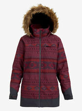 2019 Women's Burton Lelah Jacket Port Royal Freya Weave / Trocadero Medium