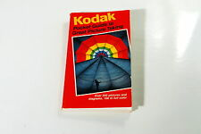 Kodak Camera Pocket Guide to Great Picture Taking 1984 112 pages Photography
