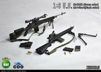 1//6 Scale toy Blackopstoys Exclusive Direct Action M14 EBR Sniper Rifle Set