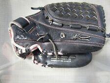 "Mizuno Prospect 12"" Finch Series GPL1208 Softball Glove Black Leather Pink Trim"