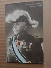 Postcard WW1 General Joffre French General posted