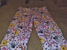Winnie the Pooh Eeyore Women's Pink Sleep Pajama Lounge Pants Size 3XL 22/24