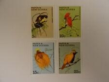 Papua new guinea 175-178  birds 1970 MNH-postfris 7.50 euro mi