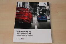 68041) BMW X5 + X6 M Prospekt 01/2011