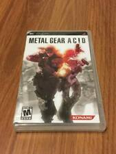 Metal Gear Acd (Sony PSP, 2005) Good, Missing Manual!