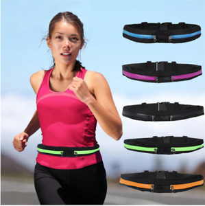 RUNNING BELT - Adjustable Waterproof Running Belt for Phone, Money for All Sport