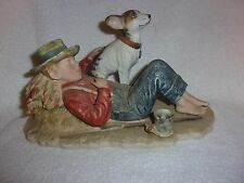 "Vintage Japan Gorham Norman Rockwell'S "" Spring"" Figurine First Edition"
