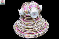 Royal Albert SERENA 24 pc Dinner Set - 4 place settings x 6 pieces 1st Eng c1935