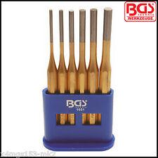 BGS - Parallel Pin Punch Set - 3 - 8 mm, 150 mm Long - 6 Pcs - Pro Range - 1651
