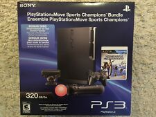 Sony PS3 PlayStation Move Sports Champions Bundle 320gb New Factory Sealed Mint