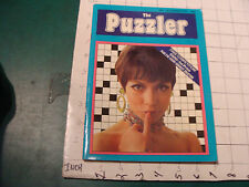 vintage HIGH GRADE mag:  THE PUZZLER #1 nov 1972, 36pgs, VERY SCARCE London mag