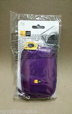 Qpb301 Purple Case Logic Small Compact Camera Bag Etui Pouch Belt Phone Waist