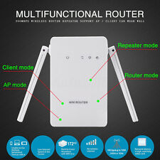 300Mbps Wireless-N Repeater Network Router Range Extender WiFi Signal Booster
