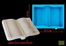 Silikonform silicone mold (178) Buch 3D mould cake fondant sugarcraft