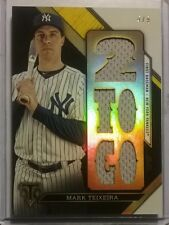 2016 Topps Triple Threads Relic Combo MARK TEIXEIRA Gold Game Used Relics /9