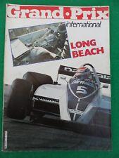 Grand Prix international - April 8th 1980 - Long Beach