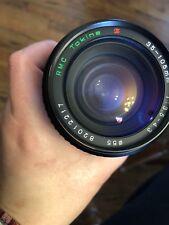 CANON fd mount RMC TOKINA 35-105mm 1:3.5-4.3 Zoom Lens