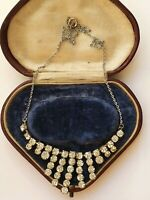 Diamante Diamond Paste Necklace 50's