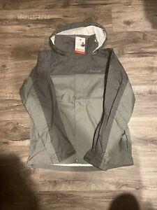 Nwt Marmot PreCip Cinder/Slate Grey Men's Rain Wind Waterproof Jacket Size Small