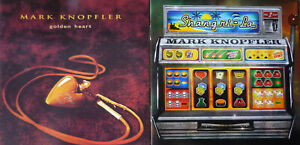 2 x CD - Mark Knopfler - Dire Straits - golden heart + Shangri-La - TOP
